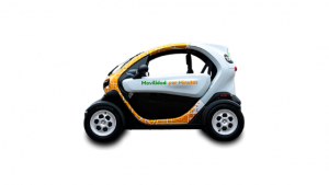 Minits, alquiler de vehículo eléctrico en Badajoz 1