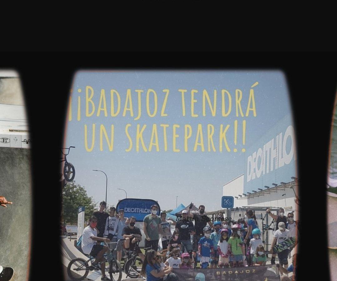 historia skatepark en Badajoz