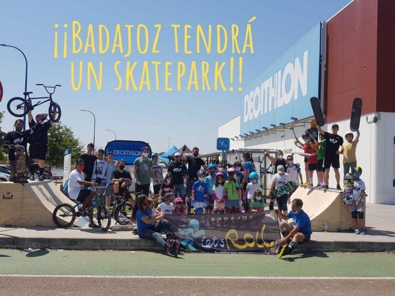skatepark en Badajoz